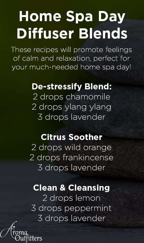 relaxing essential oil diffuser blends